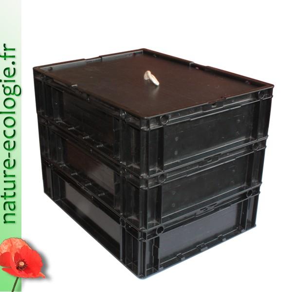fabriquer un lombricomposteur en bois. Black Bedroom Furniture Sets. Home Design Ideas